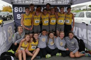 2017 Shawnee Mission West Cross Country State Qualifiers