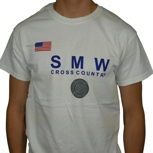 Shawnee Mission  West Cross Country USA Flag