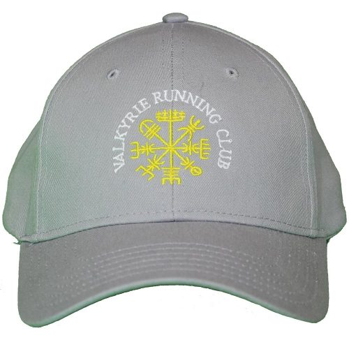 Valkyrie Running Club Grey Ball Cap